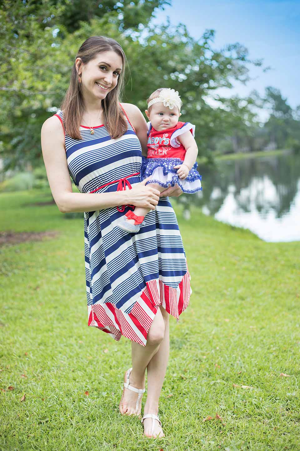 fourth of july mommy and baby outfit3