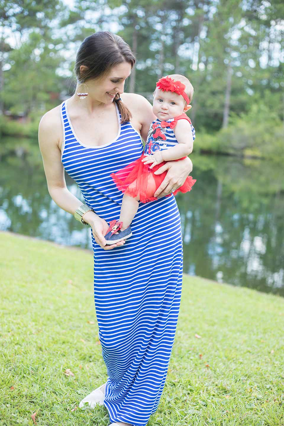 fourth of july mommy and baby outfit4