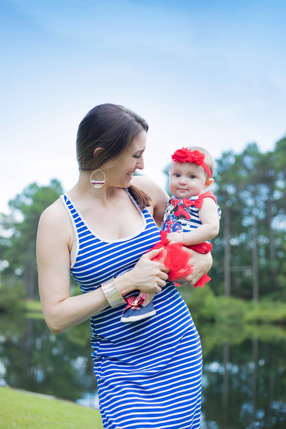 fourth of july mommy and baby outfit5