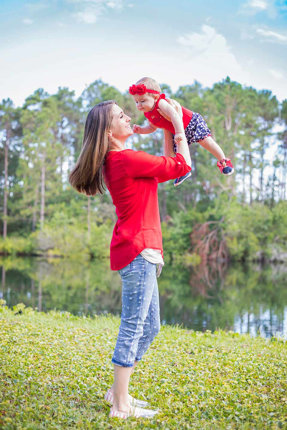 fourth of july mommy and baby outfit8