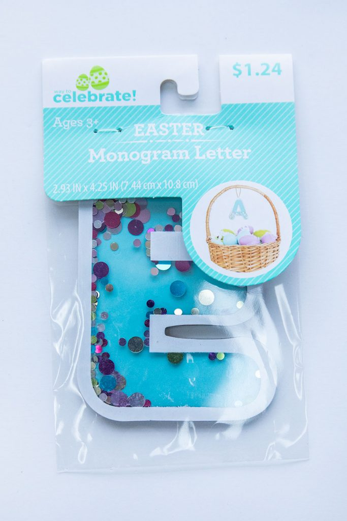 Easter Monogram Letter