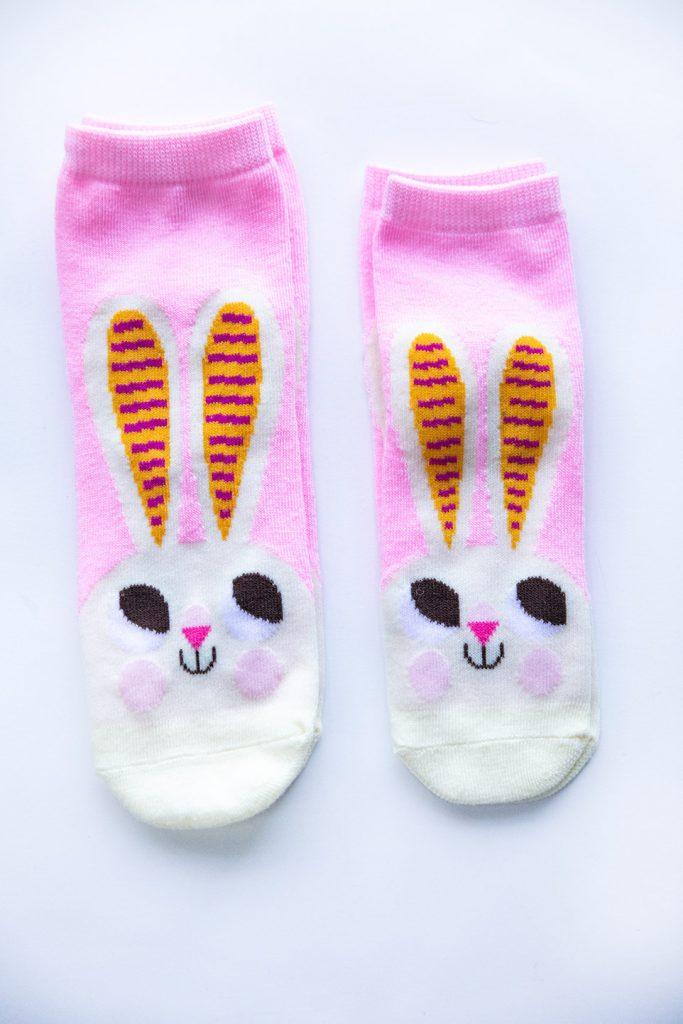 Mommy & Me Bunny Socks